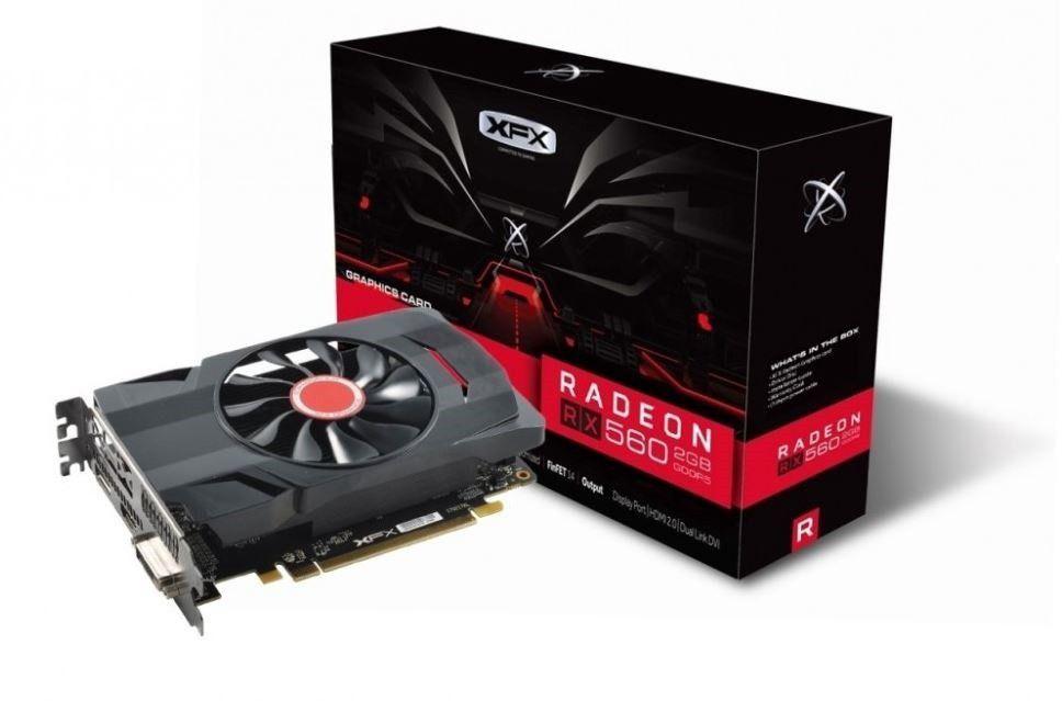 Karta graficzna XFX Radeon RX 560 Dual Slot 2GB GDDR5 (RX-560D2SFG5) 1