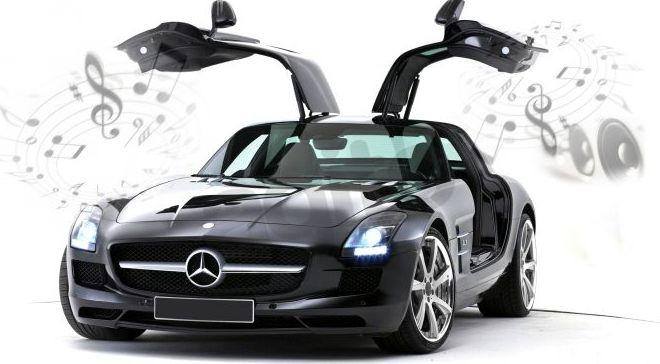 Dumel Mercedes Benz SLS AMG Bluetooth 1:16 (86074) 1