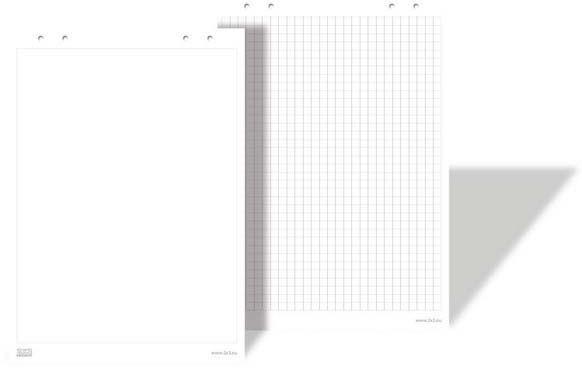 2x3 Flipchart 58x83cm, 30 kartek (B01) 1