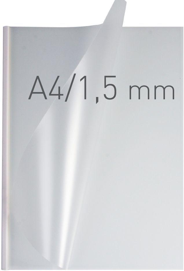 Opus Okładki O.easyCOVER SemiMatt A4 1,5mm białe (EASYCOVERA4DHM1BIA50) 1