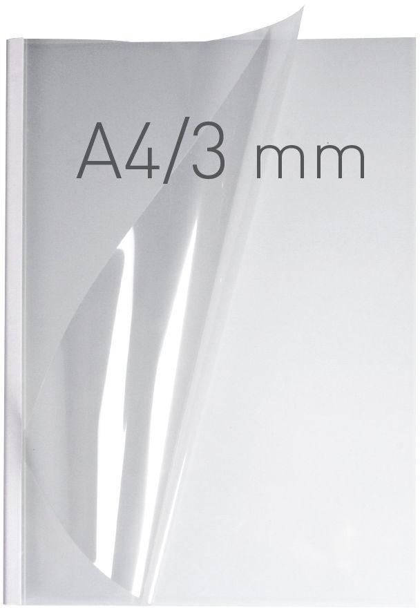 Opus Okładki O.easyCOVER Semi Matt A4 3mm białe (EASYCOVERA4DHM3BIA40) 1