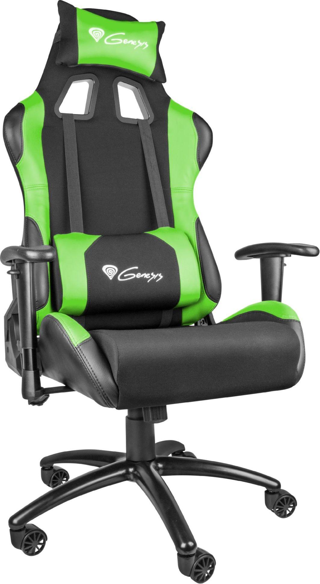 Fotel Genesis Nitro 550 Czarno-zielony (NFG-0907) 1