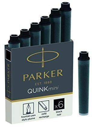 Parker Naboje do pióra czarne (1950407) 1