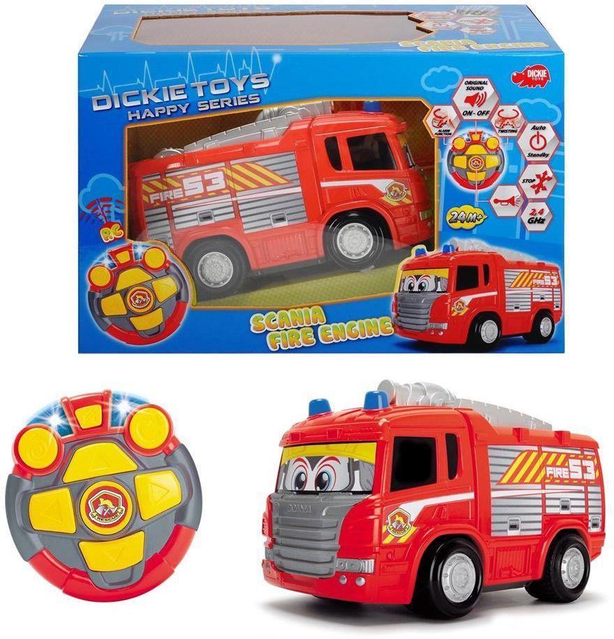 Dickie Samochód RC Happy Scania Straż pożarna (203814031) 1