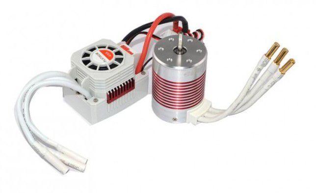 Rocket Silnik bezszczotkowy Platinum 3650 4300KV + ESC 45A 1