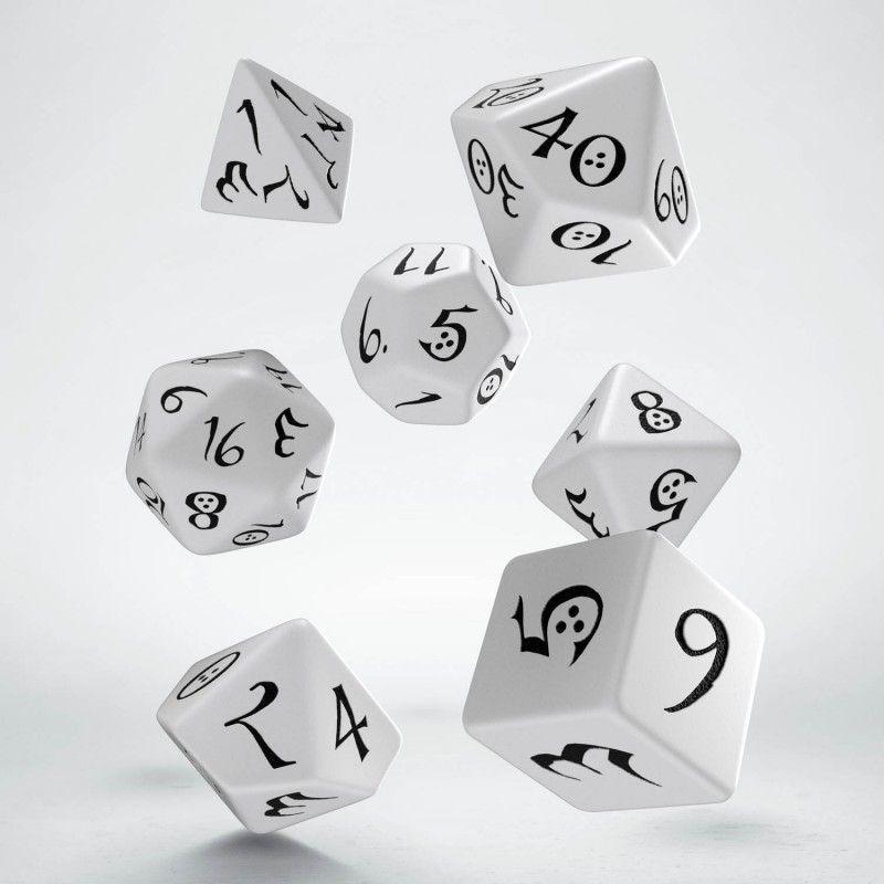 Q-Workshop Komplet klasyczny - Biało-czarny 1