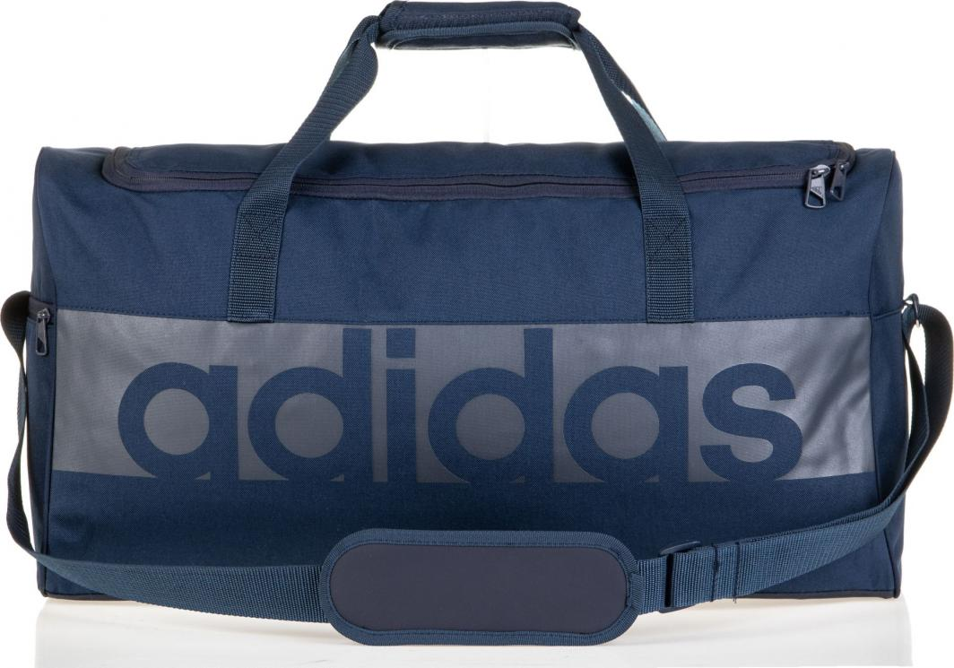 c421b1c863d43 Adidas Torba sportowa Lin Per TB M granatowa (BR5073) w Sklep-presto.pl