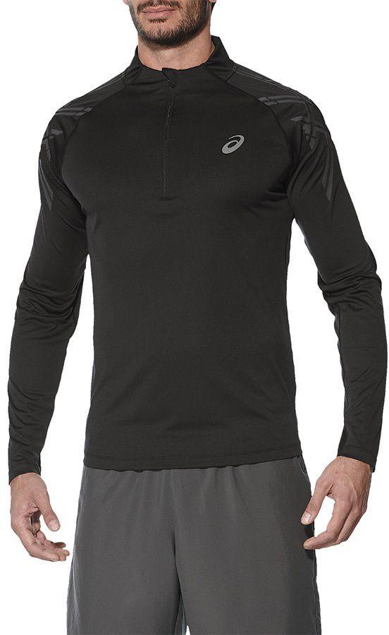 Asics Bluza Asics Stripe 12 Zip czarna r. XL (41203 0904) ID produktu: 1650370