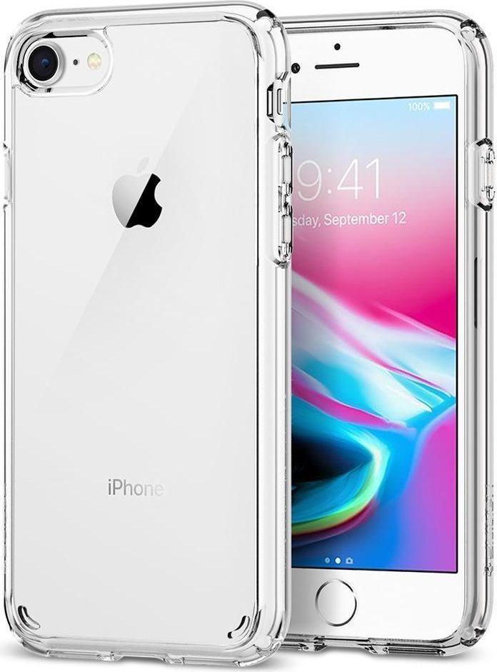 Spigen Ultra Hybrid 2 Clear Etui iPhone 7/8 1