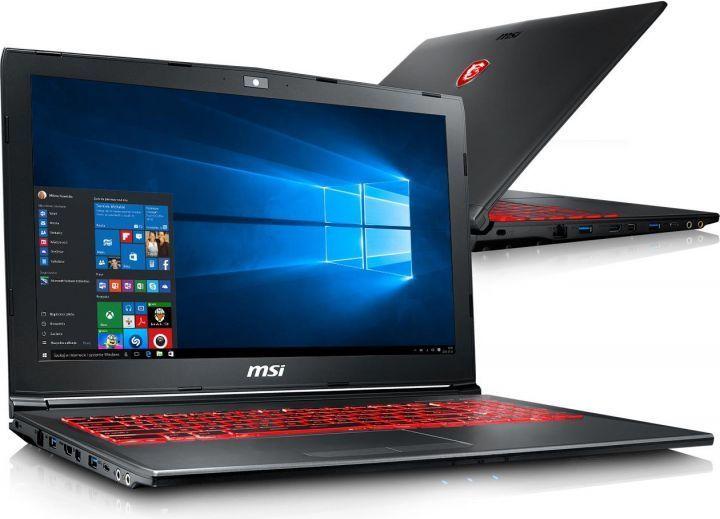 Laptop MSI GV62 7RC-065PL 1
