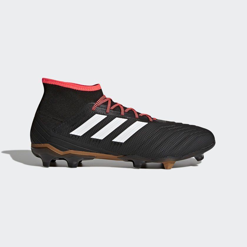 Adidas Buty piłkarskie Predator 18.2 FG Czarne r. 41 13 (CP9290) ID produktu: 1656094