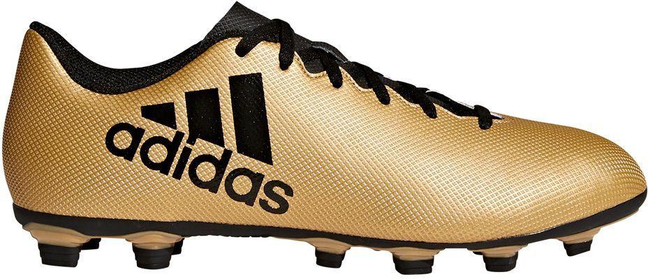 Adidas Buty Piłkarskie X 17.4 FxG złoty r. 42 (CP9195) ID produktu: 1656105