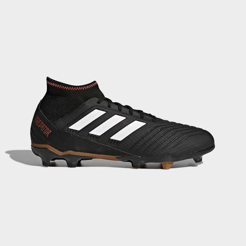 Adidas Buty piłkarskie męskie Predator 18.3 FG Czarny r. 48 (CP9301) ID produktu: 1658741