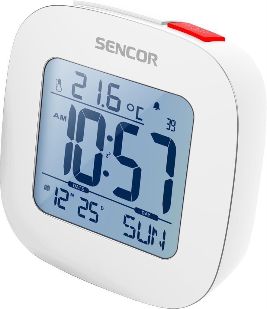 Sencor Budzik z termometrem sencor (SDC 1200 W) 1