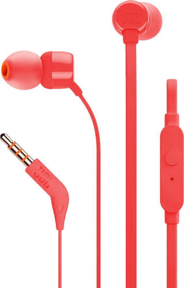 Słuchawki JBL T110 (T110RED) 1