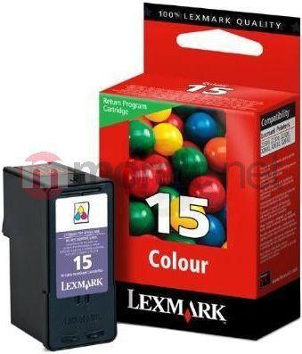 Lexmark tusz nr 15 (018C2110E) Color 1