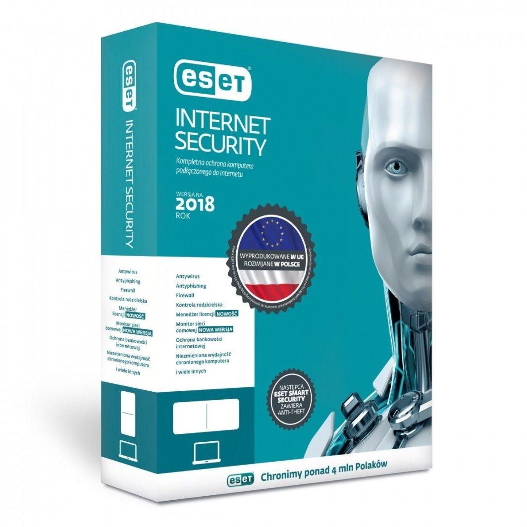 ESET Internet Security PL ESD Kontynuacja 2 lata 1 urządzenie (EIS-K-2Y-1D) 1