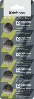 Defender Bateria CR2032 5szt. 1