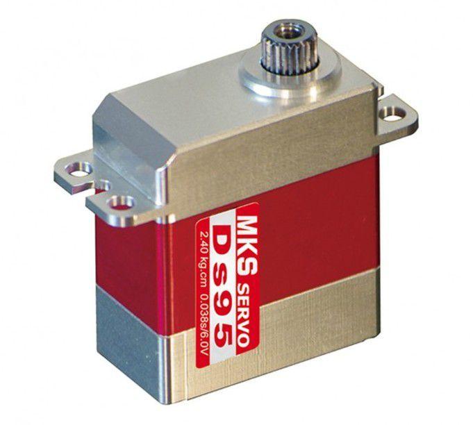 MKS Serwo DS95 6V, 0.053s/60, 3.05kg-cm (MKS/S0017001) 1