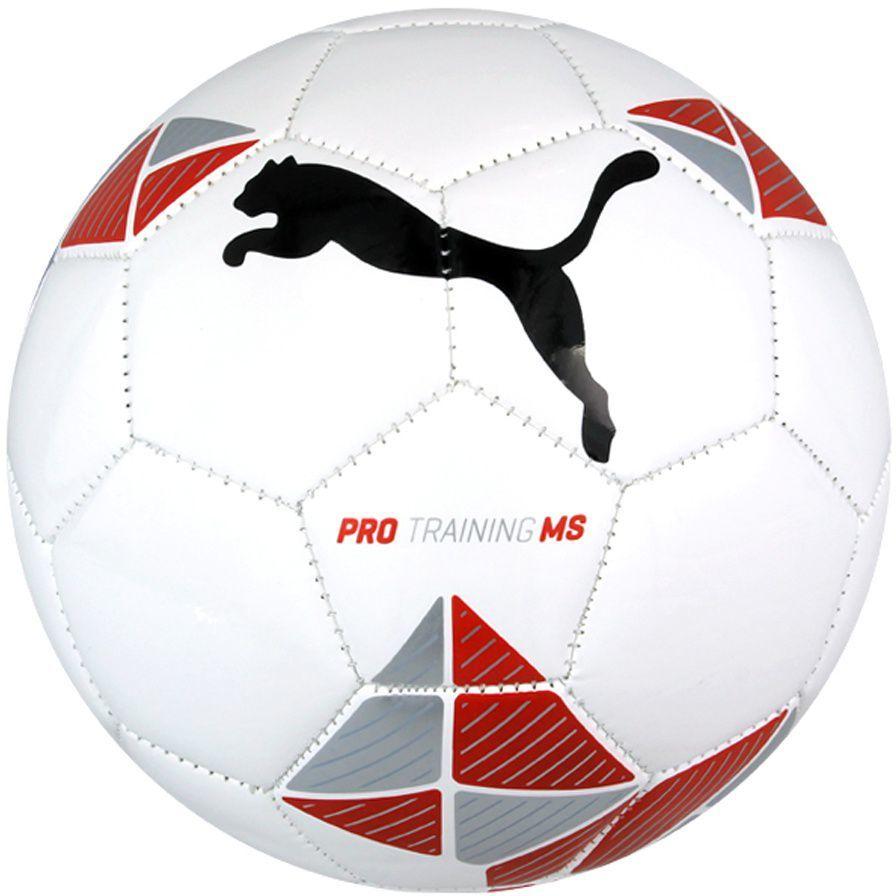 3be40402b12c6 Puma Piłka nożna Pro Training MS biała r. 5 (082432 03) w Sklep ...