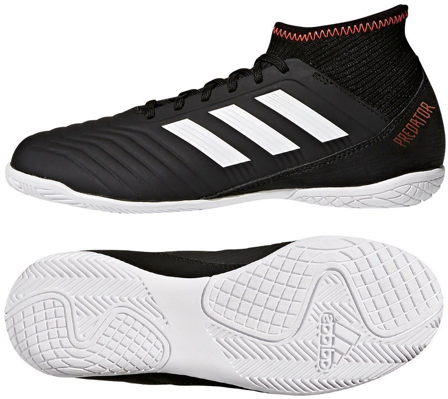 największa zniżka na stopach o tani Adidas Buty piłkarskie Predator Tango 18.3 IN J czarne r. 31 (CP9076) ID  produktu: 1665457