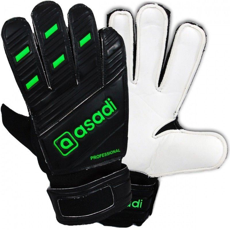 Asadi Rękawice bramkarskie Professional MODEL 022 czarne r. 7 1