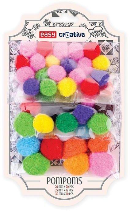 Easy Stationery Ozdoba Dekoracyjna Kolorowe Pompony Easy Id Produktu 1666581
