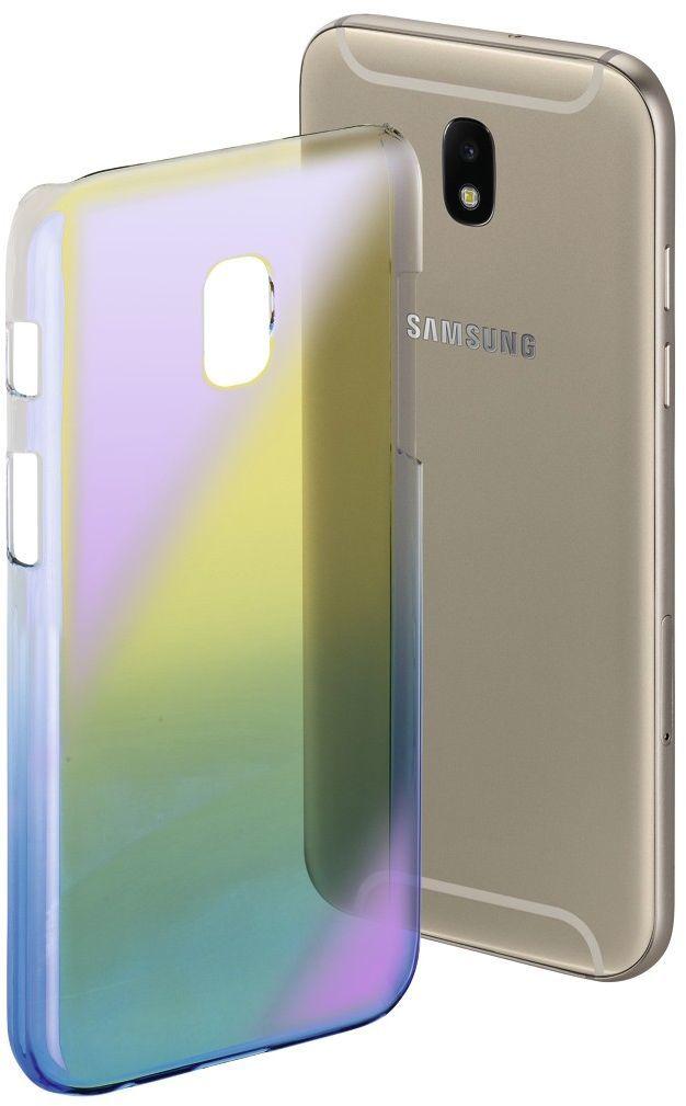 Hama Mirror do Samsung Galaxy J5 (2017) żółto-niebieskie (001813640000) 1
