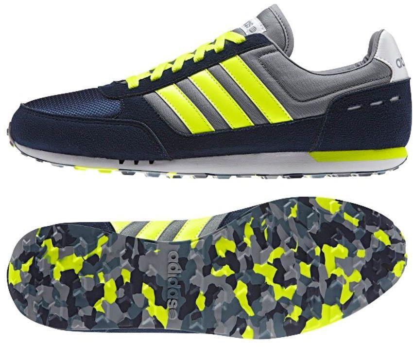 1ab0aaa311adb Adidas Buty męskie CITY RACER granatowo-żółte r. 44 (F97876) w Sklep -presto.pl