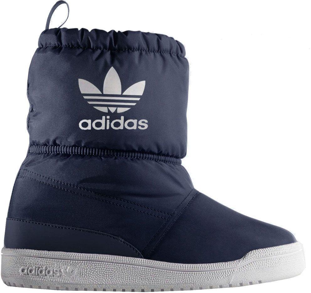 Adidas Buty Zimowe Dziecięce Slip On Boot I Granatowy r. 27 (B24741) ID produktu: 1669850