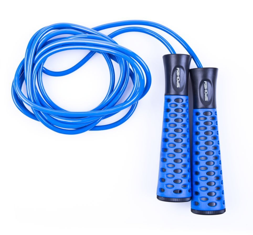 Spokey Skakanka Candy Rope II niebieska 1