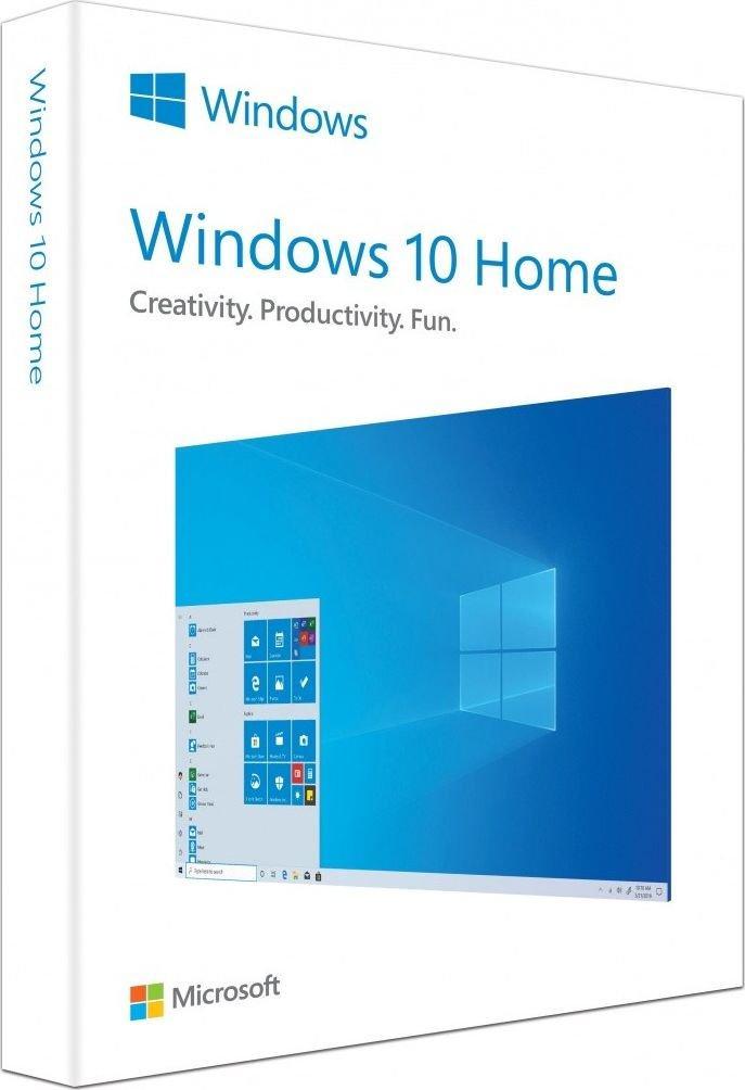 System operacyjny Microsoft Windows 10 Home PL 32 bit 64 bit BOX (HAJ-00070) 1