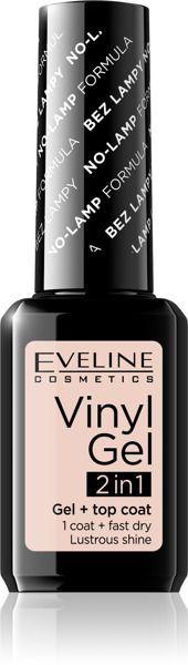 Eveline Vinyl Gel 2in1 Lakier do paznokci winylowy nr 202 12ml 1
