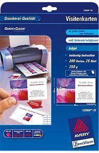 Avery Zweckform papier wizytówkowy 85x54mm (C32028-25) 1