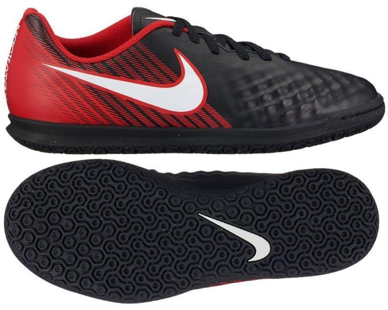 buty nike magistax czarno-czerwone