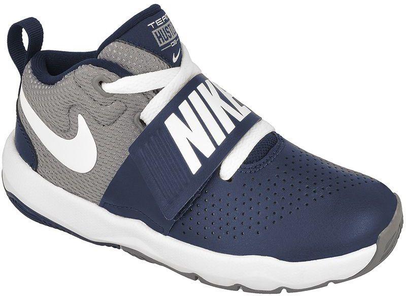 cbbe33c8d7f10 Nike Buty juniorskie Team Hustle D 8 PS granatowo-szare r. 28.5  (881942-401) w Sklep-presto.pl