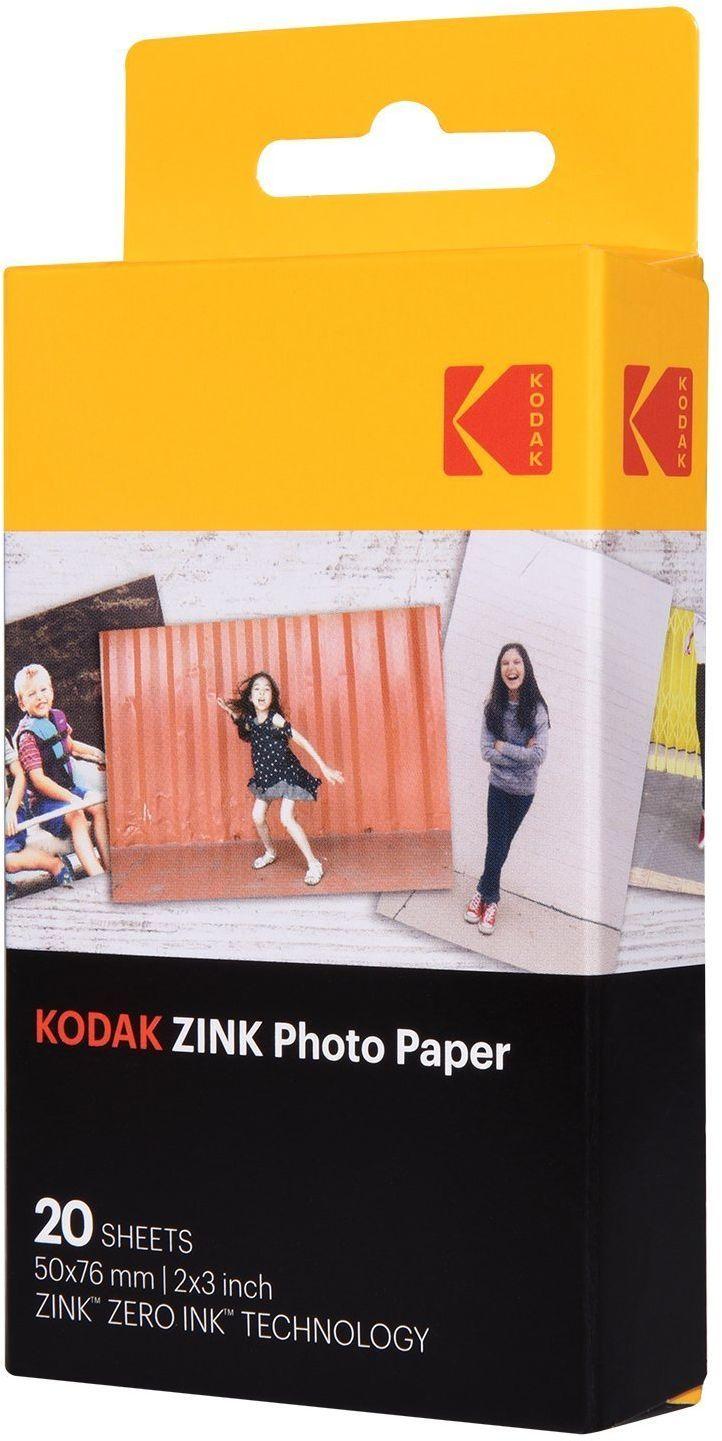 Kodak ZINK Photo Paper 20 sztuk (FOTAOAKCKOD00001) 1