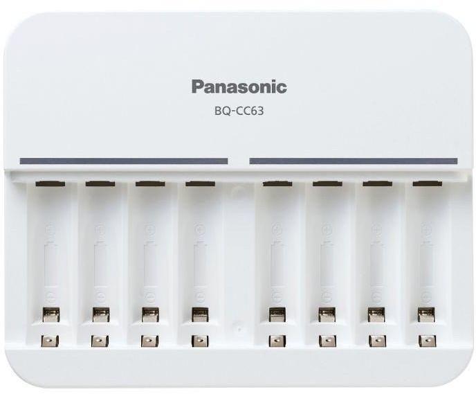 Ładowarka Panasonic Panasonic 8 Cells Charger without Accus (BQ-CC63E) 1