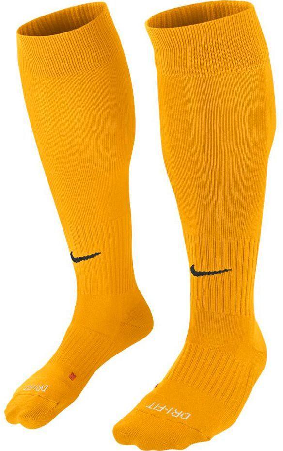 Nike Getry piłkarskie Classic II Cush Over-the-Calf żółte r. 30-34 (SX5728-739) 1