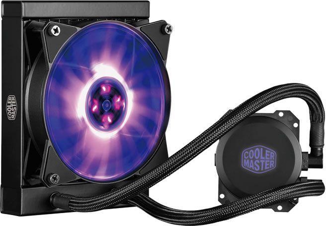 Chłodzenie wodne Cooler Master MasterLiquid Lite 120L RGB (MLW-D12M-A20PC-R1) 1