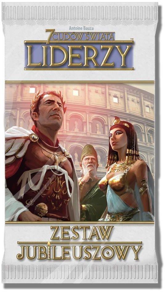 Rebel Gra karciana 7 Cudów Świata: Zestaw Jubileuszowy Liderzy (261669) 1