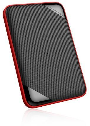 Dysk zewnętrzny Silicon Power HDD Armor A62 4 TB Czarno-Czerwony (SP040TBPHD62LS3K) 1