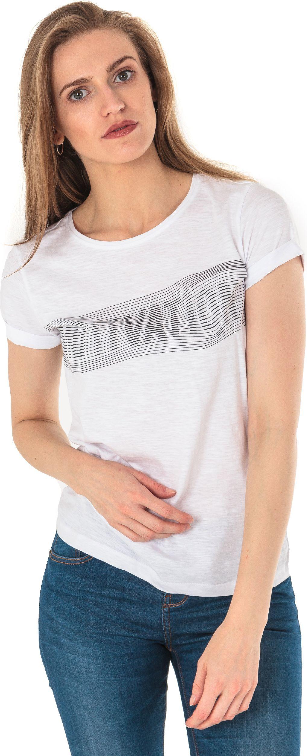 4f Koszulka damska H4L18-TSD018 biała r. M 1