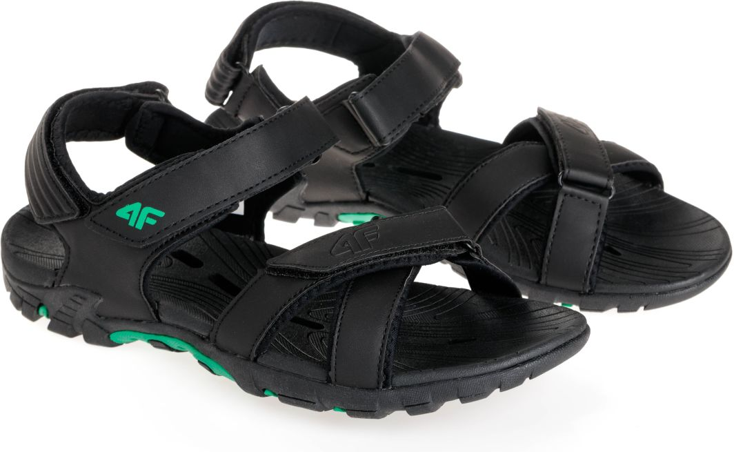 4f Sandały męskie H4L18 SAM002 czarne r. 42 ID produktu: 1691015