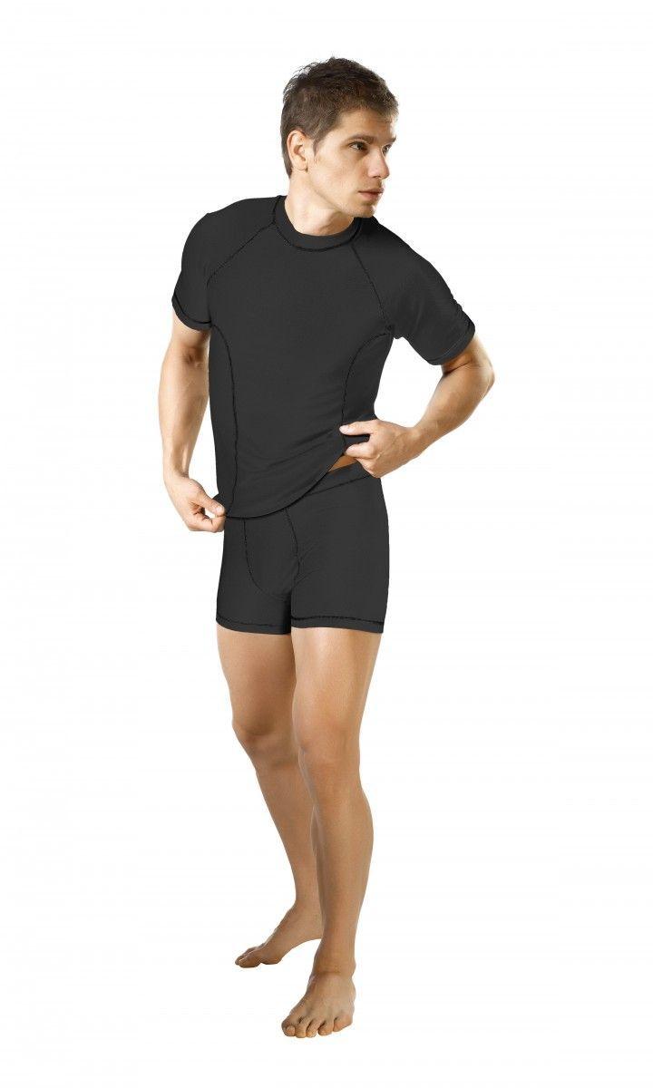 Gwinner Koszulka męska Active Moisture Management czarna r. M (522740010000) ID produktu: 1691296