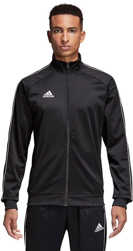 Adidas Bluza męska CORE 18 PES JKT czarna r. S (CE9053) ID produktu: 1695015