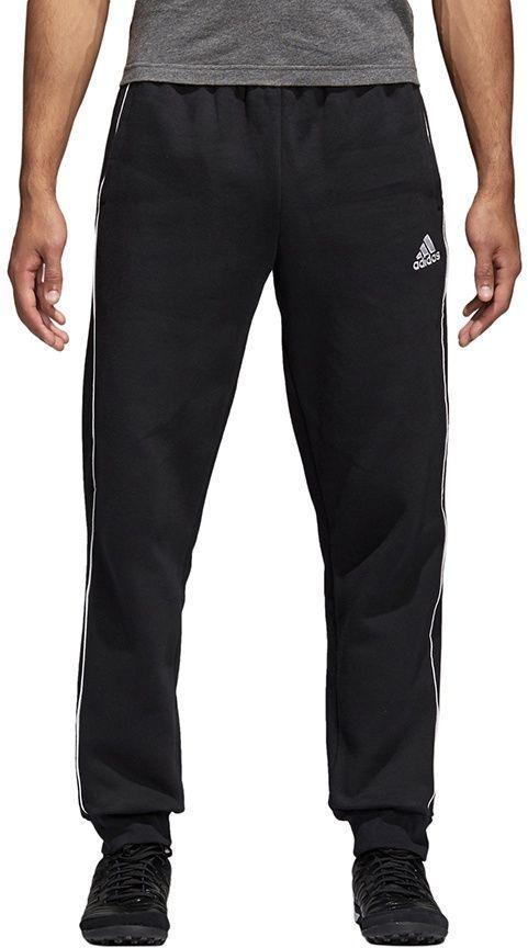 adidas Spodnie bawełniane Core 18 L CE9074 czarne