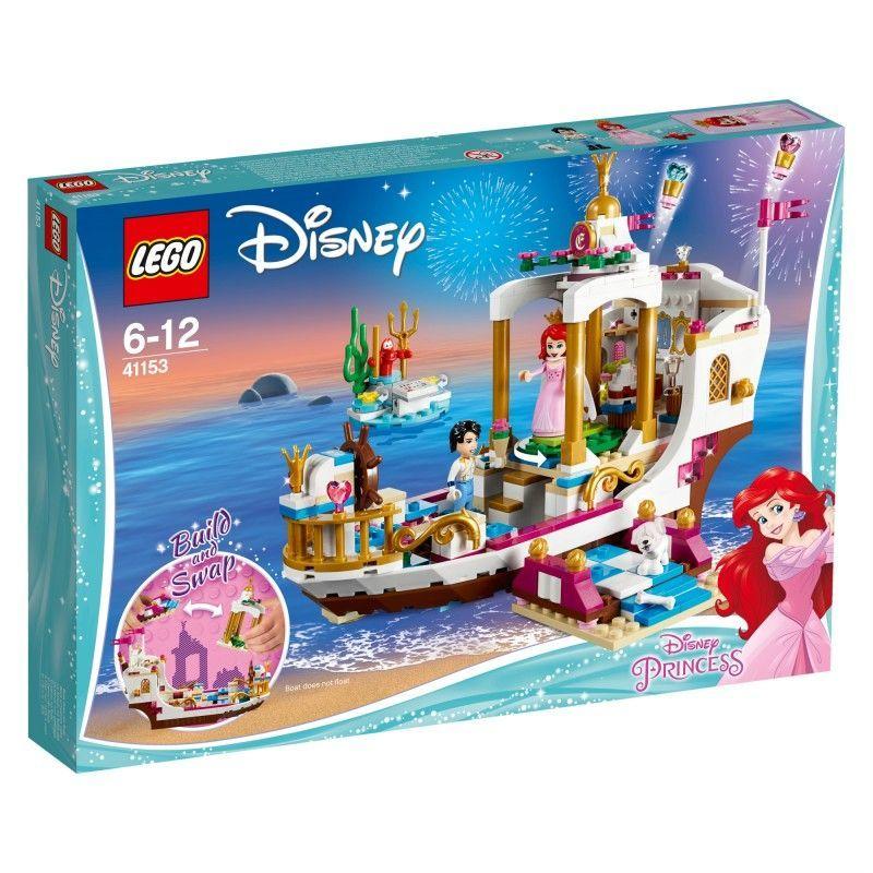 0ef3ac7b01d49 LEGO DISNEY PRINCESS Uroczysta łódź Ariel (LG41153) w Hulahop.pl