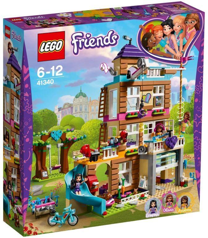 Lego Friends Dom Przyjaźni 41340 W Hulahoppl