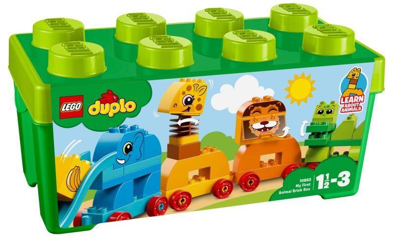 LEGO DUPLO Pociąg ze zwierzątkami (10863) ID produktu: 1697265